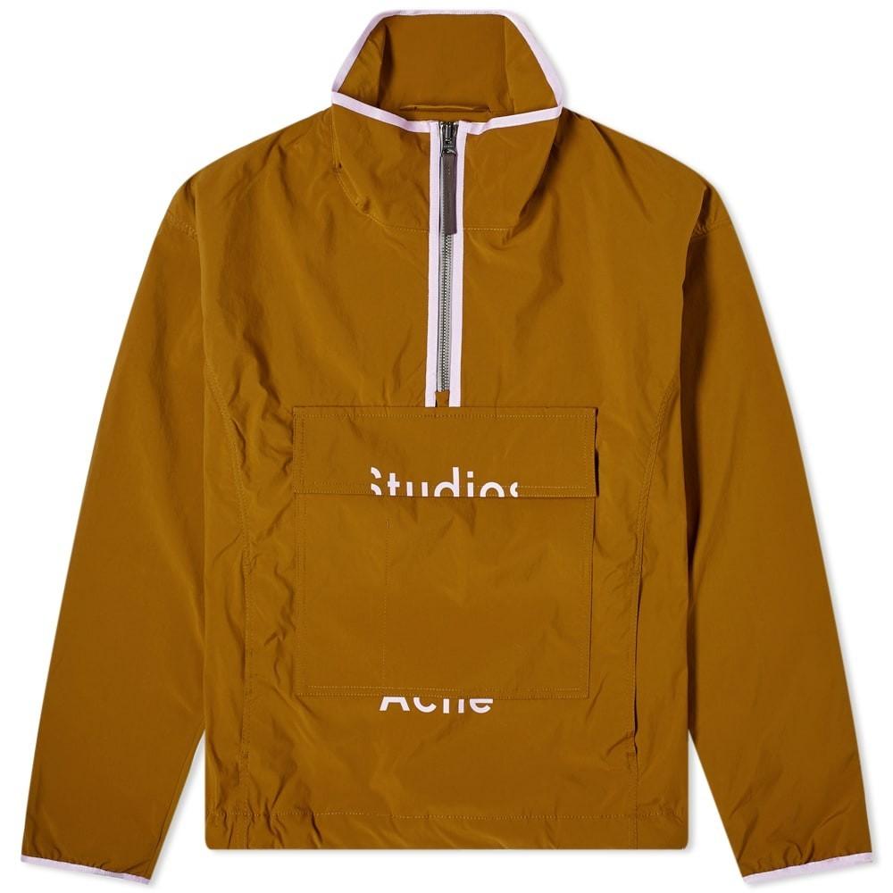 Photo: Acne Studios Odion Half Zip Jacket