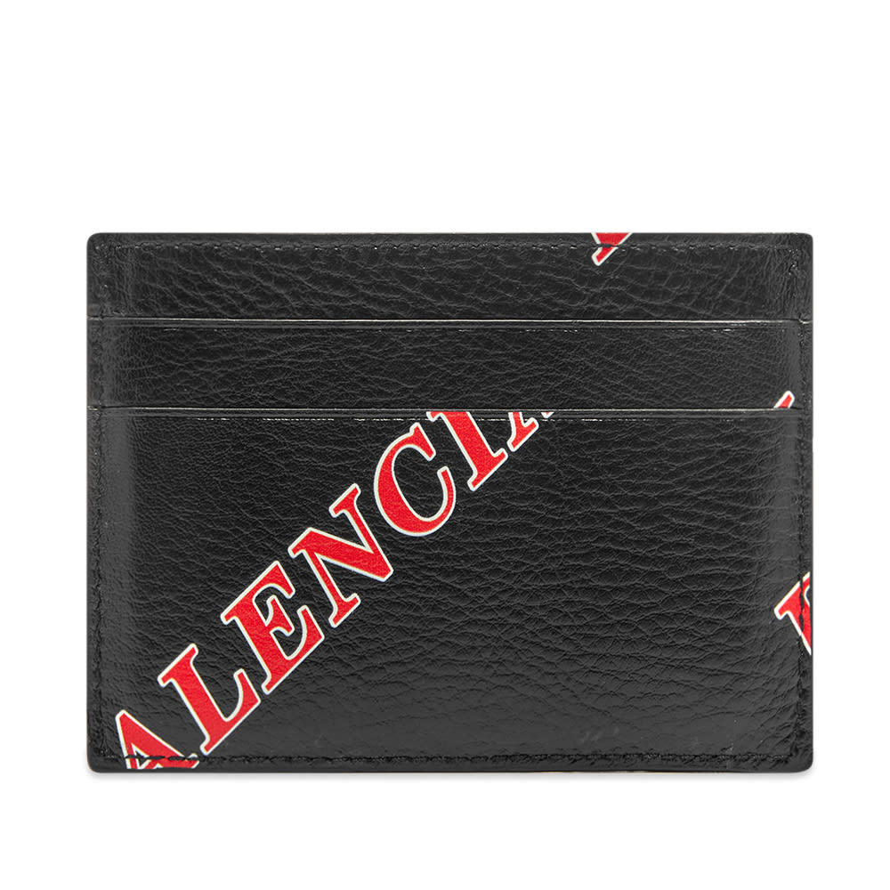 Photo: Balenciaga Printed Leather Card Holder