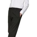 Giorgio Armani Brown Stretch Jersey Trousers