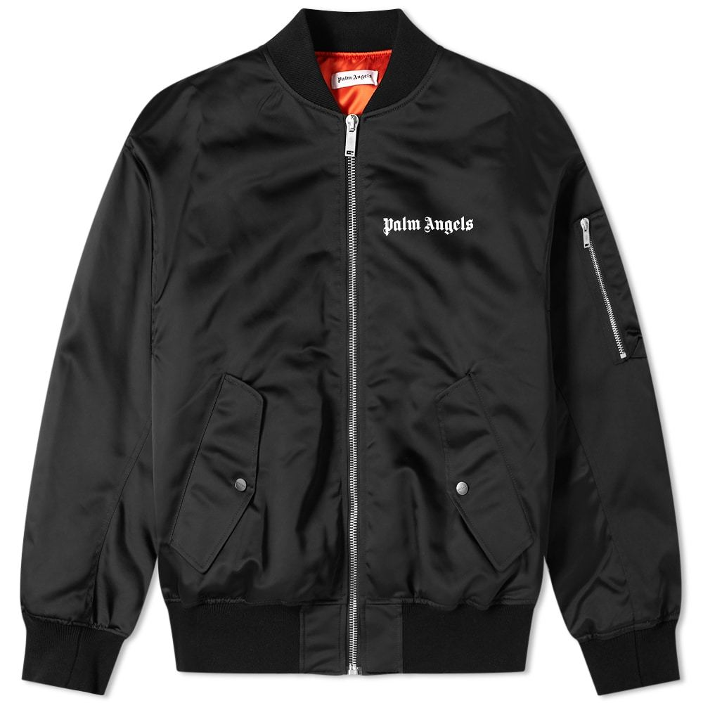 Photo: Palm Angels Logo Bomber Jacket