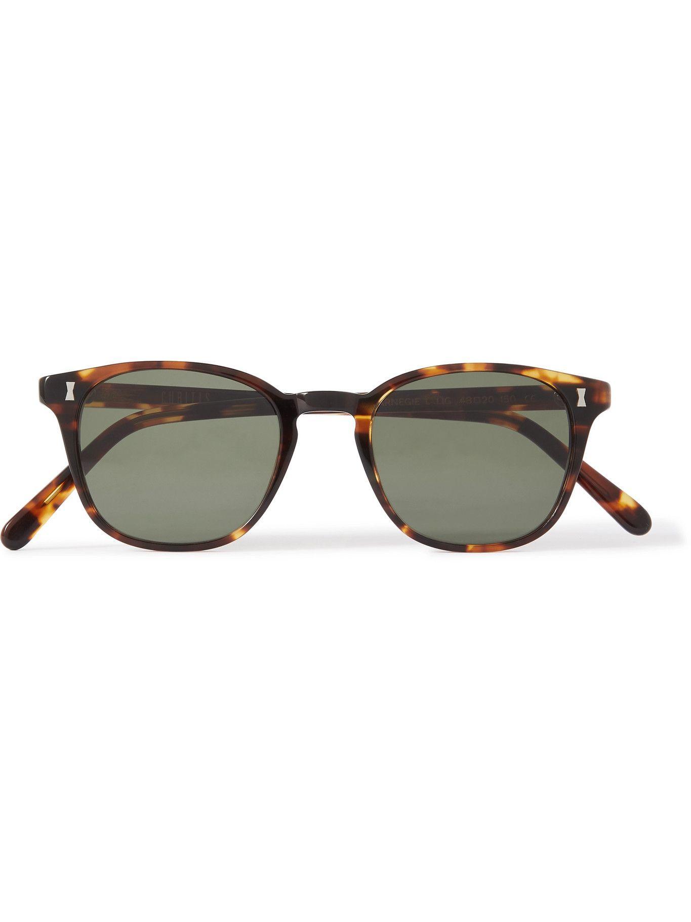 Photo: CUBITTS - Carnegie Square-Frame Tortoiseshell Acetate Sunglasses