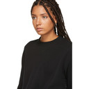 Sacai Black Sponge Sweatshirt
