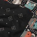 KAPITAL - Printed Selvedge Cotton Bandana - Black