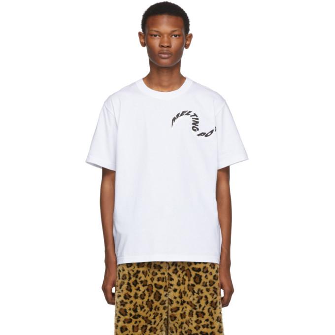 Sacai White Melting Pot T-Shirt