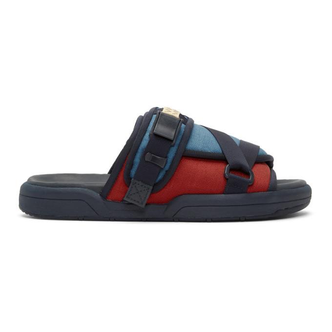 Photo: Visvim Blue Christo 2-Tone Sandals