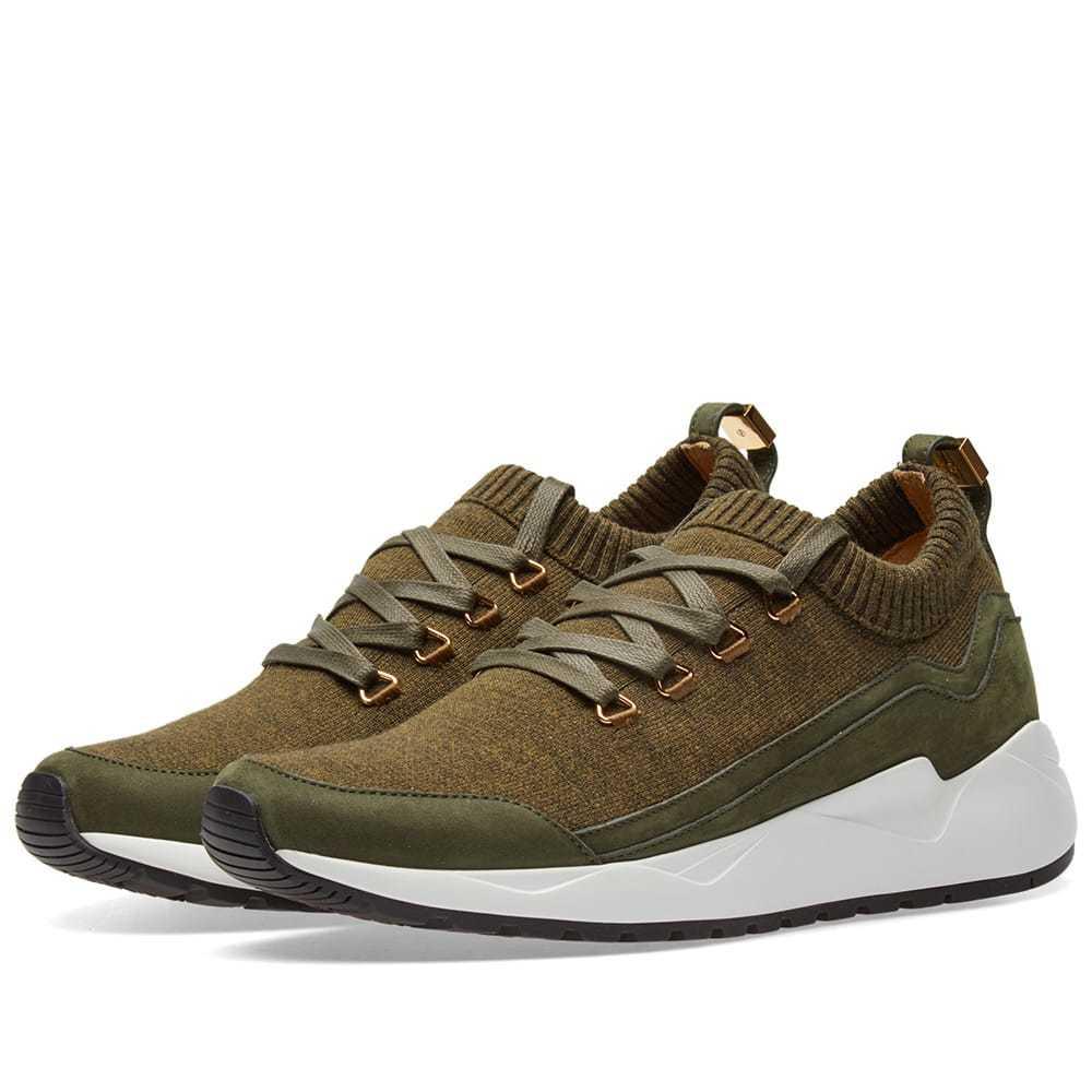 Photo: Buscemi Run1 Sneaker Green