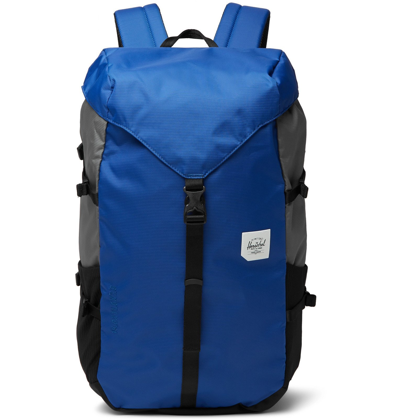 Photo: Herschel Supply Co - Barlow Large Dobby-Nylon Backpack - Blue
