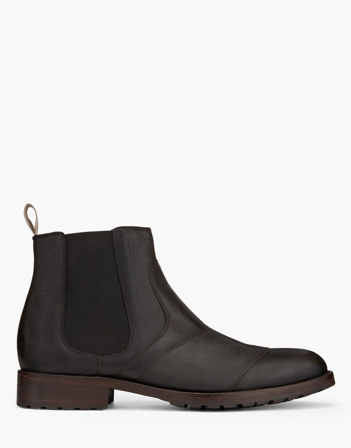 Photo: Belstaff Lancaster Short Boots Black