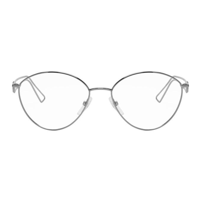 Photo: Balenciaga Gunmetal Metal Glasses