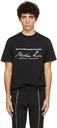 Martine Rose Black Classic Logo T-Shirt