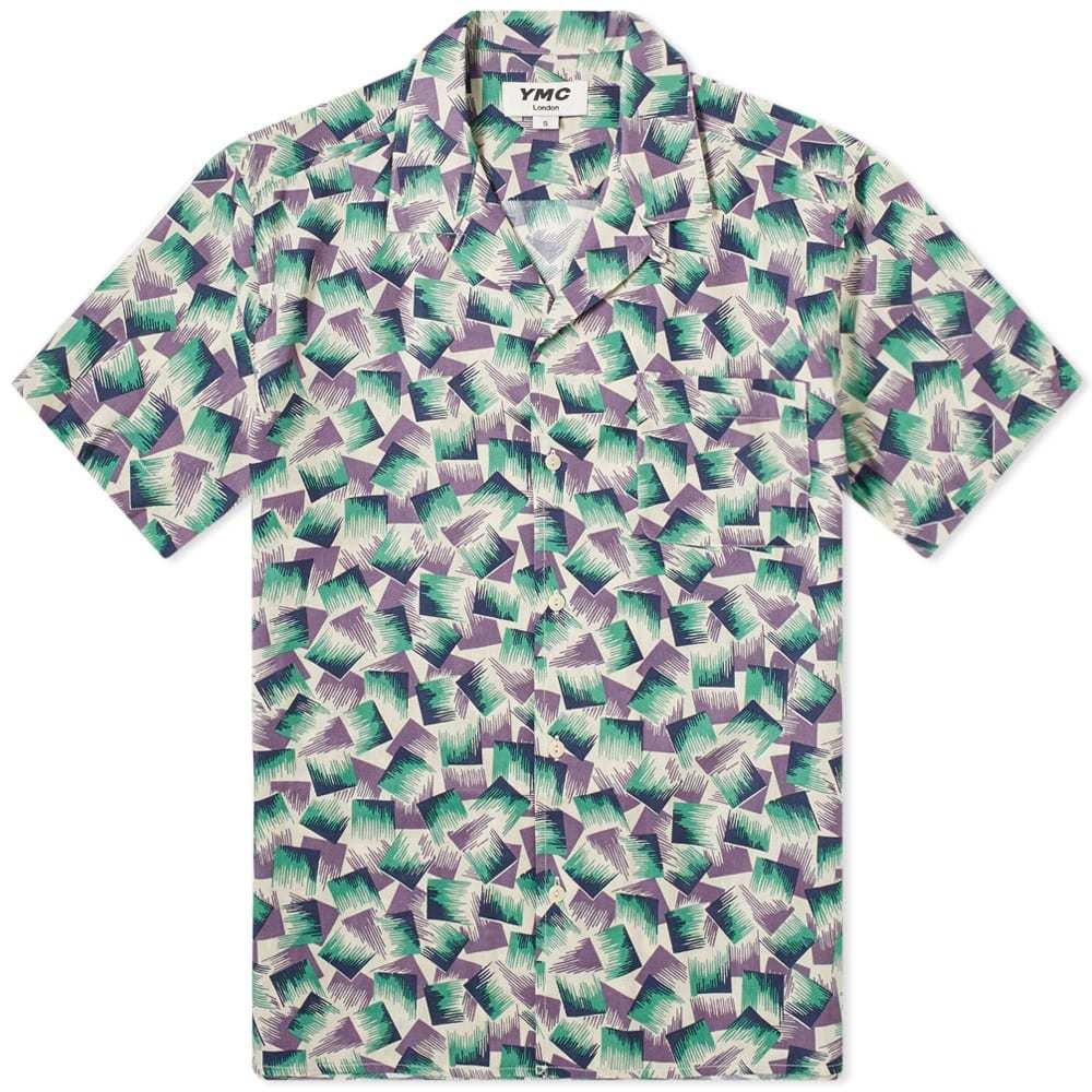 Photo: YMC Malick Multi Print Vacation Shirt