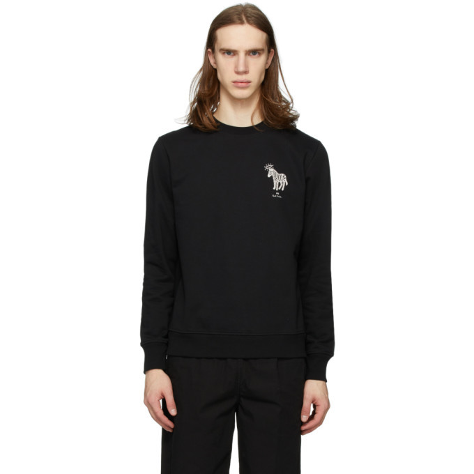 Photo: PS by Paul Smith Black Halo Zebra Sweatshirt
