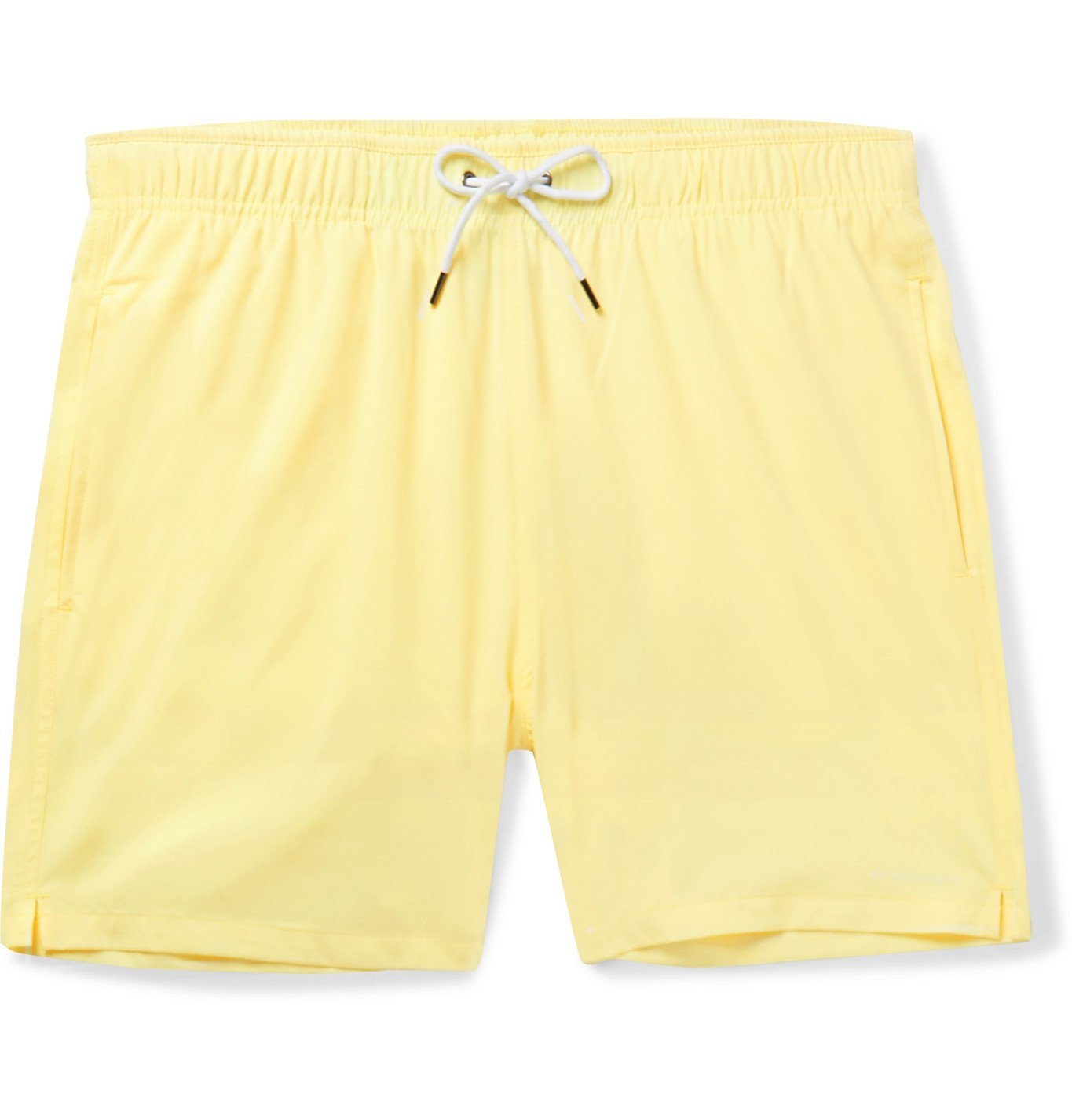 Photo: NN07 - Jules Slim-Fit Mid-Length Swim Shorts - Yellow