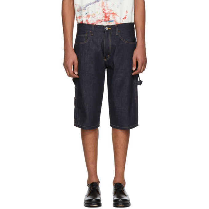 Photo: Junya Watanabe Indigo Levis Edition Denim Shorts