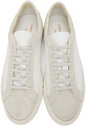 Common Projects White & Taupe Retro Summer Edition Low Sneakers