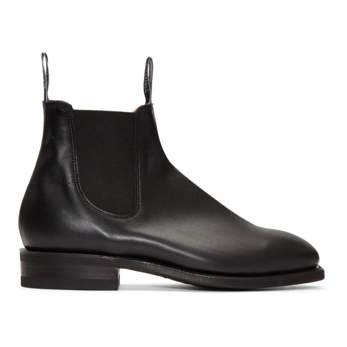 Photo: R.M. Williams Black Comfort Craftsman Chelsea Boots