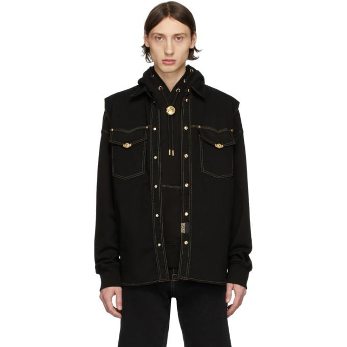 Photo: Versace Jeans Couture Black Denim Icon Vest