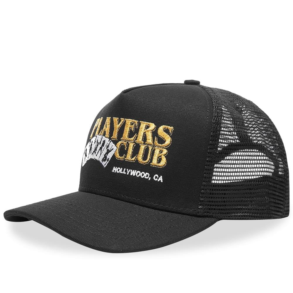 Photo: AMIRI Players Club Trucker Hat