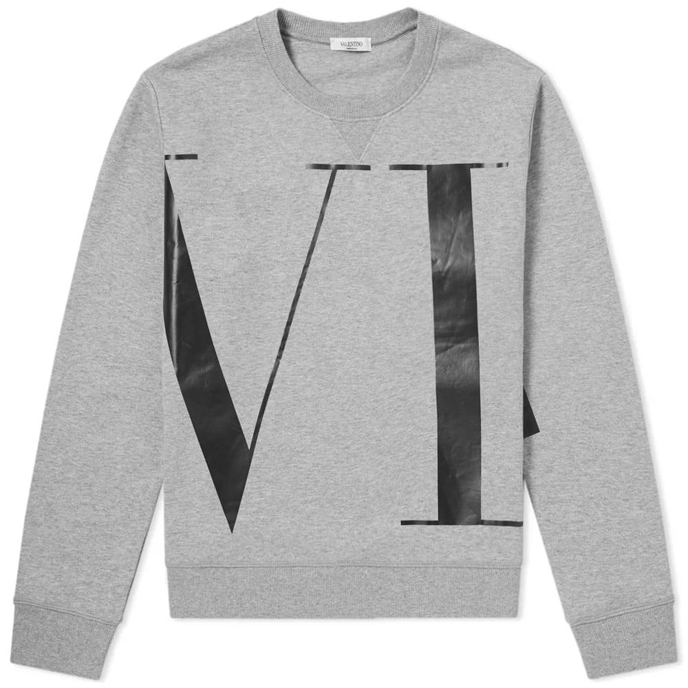 Photo: Valentino VLTN Print Crew Sweat Grey