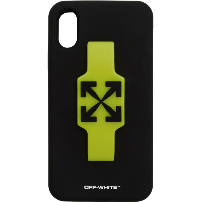 Photo: Off-White Black Arrows Finger Grip iPhone XR Case