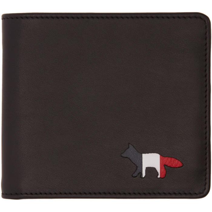 Photo: Maison Kitsuné Black Fox Logo Wallet