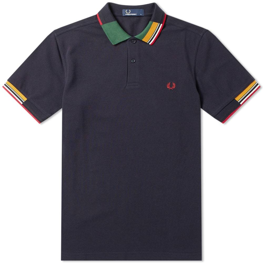 Photo: Fred Perry Abstract Collar Polo