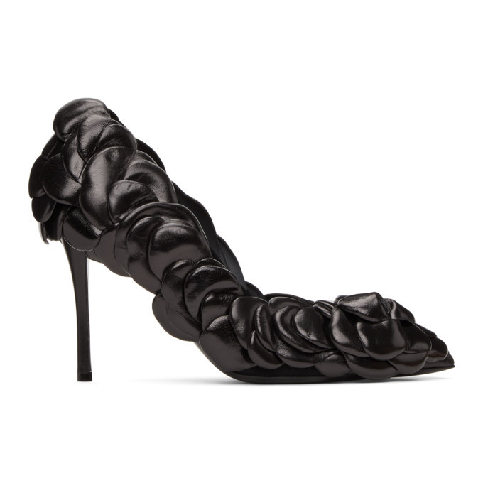 Photo: Valentino Black Valentino Garavani 03 Rose Edition Atelier Petal Heels