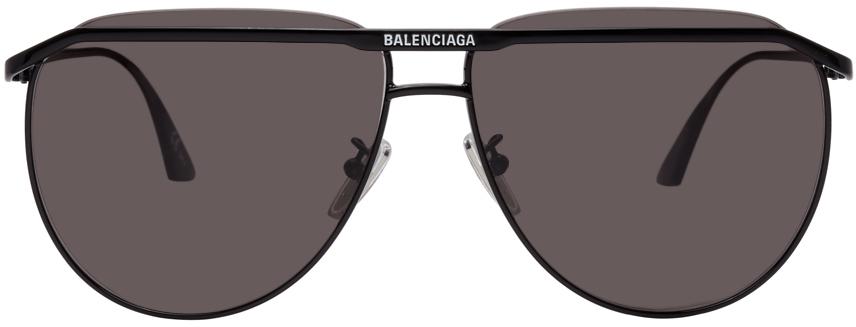 Photo: Balenciaga Black Shiny BB0140S Sunglasses