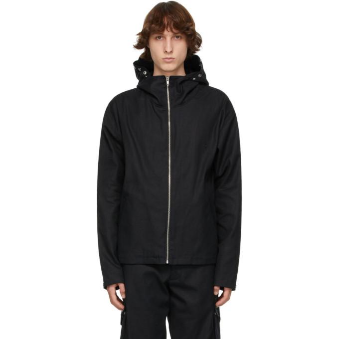 EDEN power corp Black Hemp Enoki Hooded Jacket