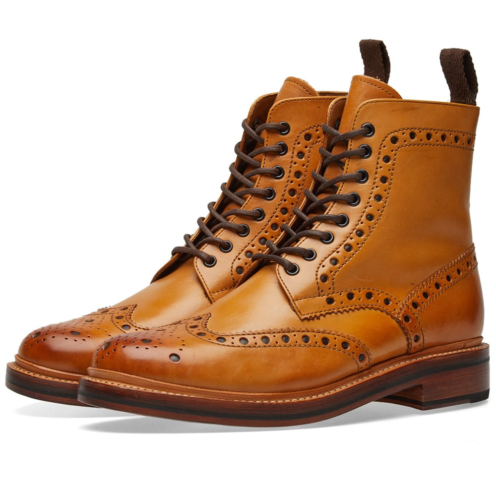 Photo: Grenson Fred Brogue Boot
