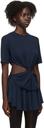 Kathryn Bowen Navy Twisted T-Shirt