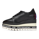 Stella McCartney Black Sneak-Elyse Loafers