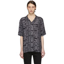 Ksubi Black No Brain Resort Shirt