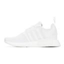 adidas Originals White NMD-R1 Sneakers