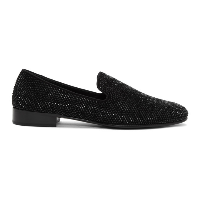 Photo: Giuseppe Zanotti Black Lewis Loafers