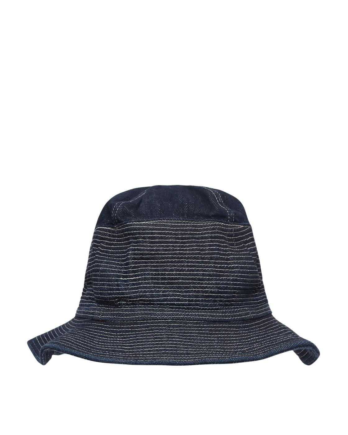 Kapital 12oz Denim The Old Man And The Sea Bucket Hat Dark
