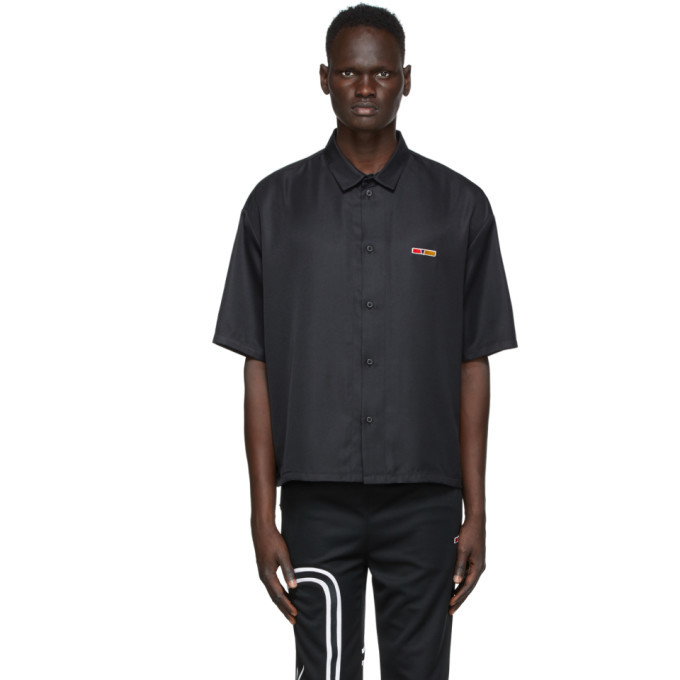 Photo: Reebok by Pyer Moss Black G Short Sleeve Shirt