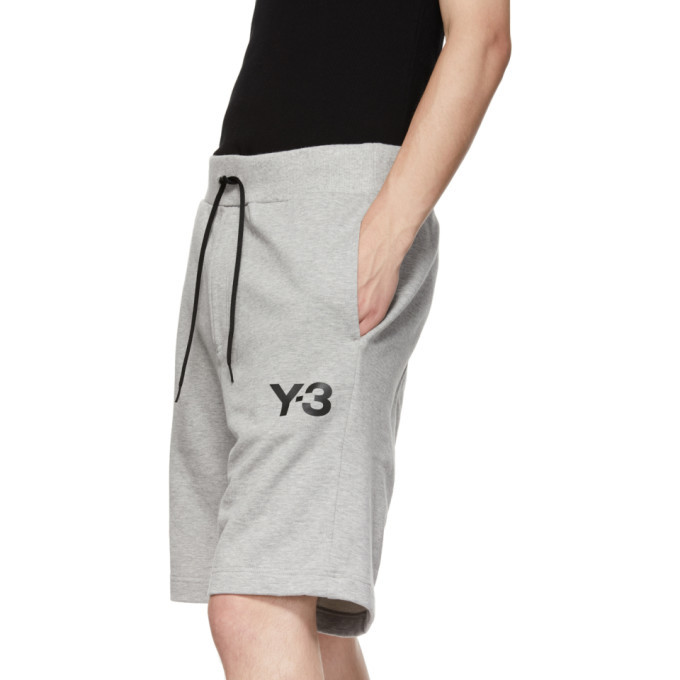 Y-3 Grey Classic Shorts