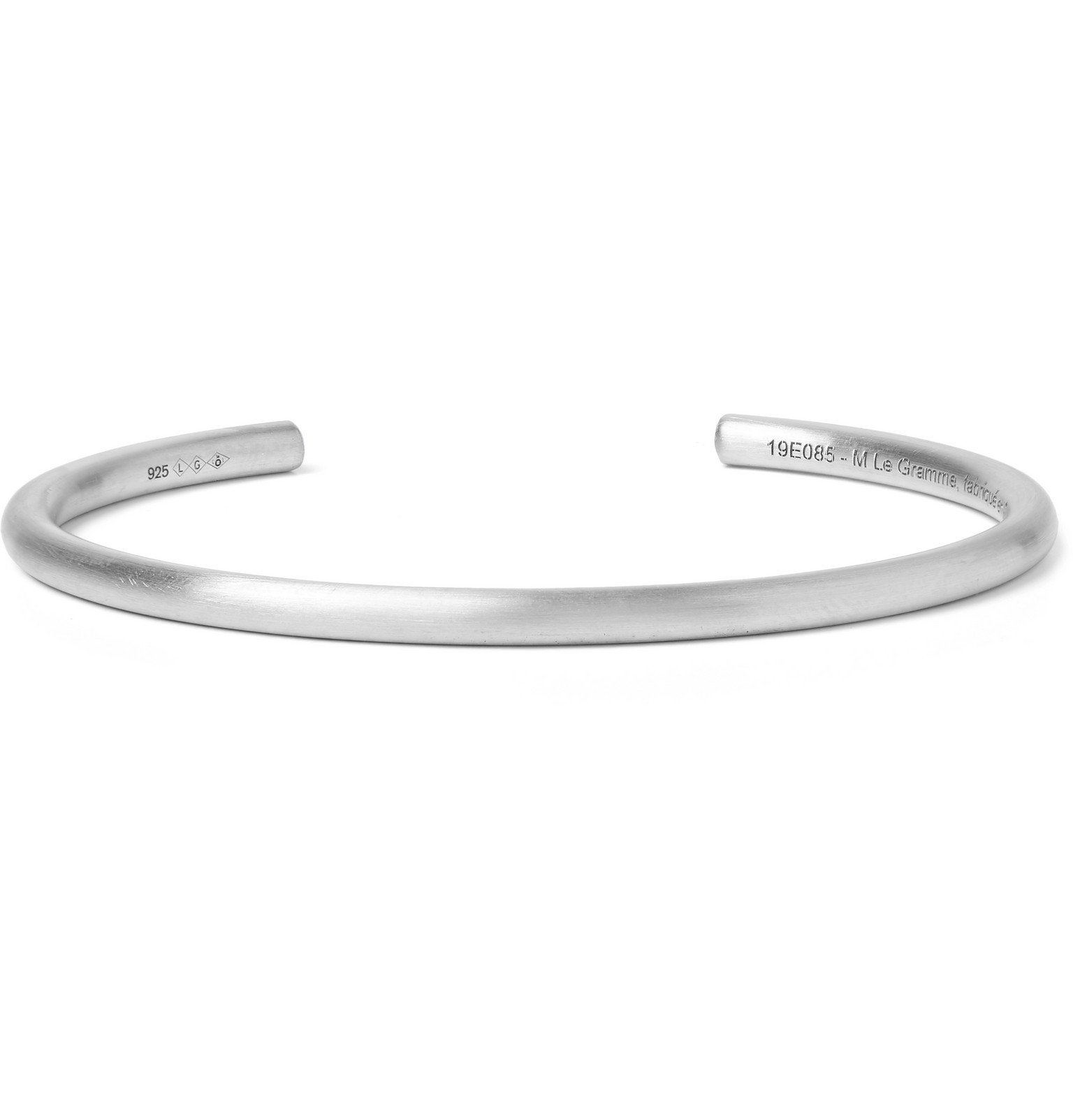 Photo: Le Gramme - Le 15 Brushed Sterling Silver Cuff - Silver
