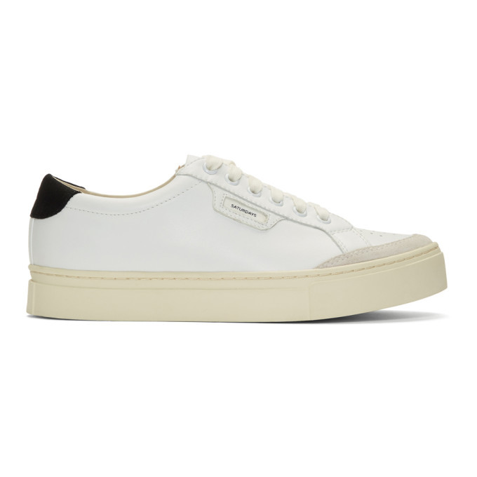 Photo: Saturdays NYC White Tilden Sneakers