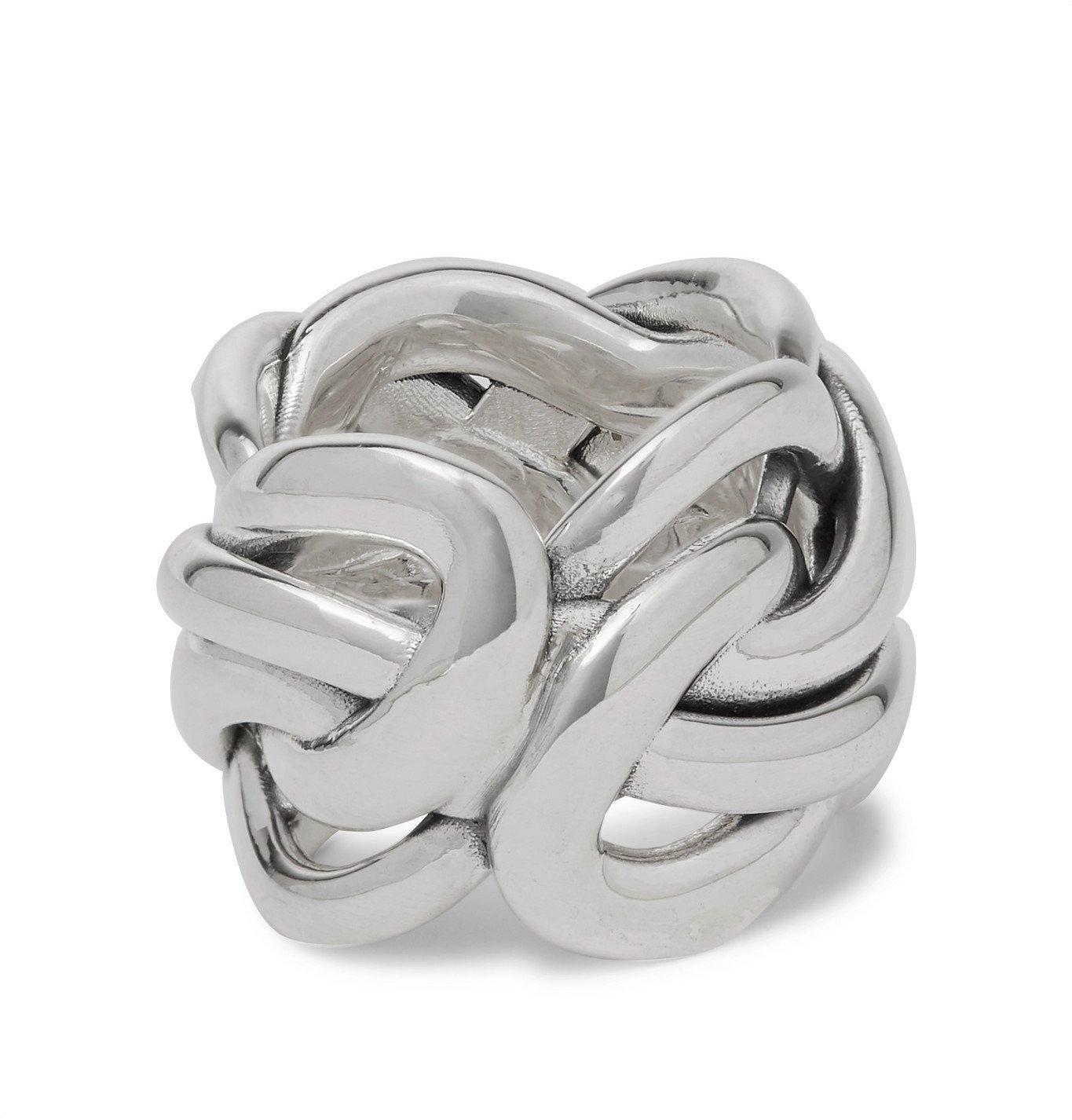 Photo: Bottega Veneta - Silver-Tone Ring - Silver
