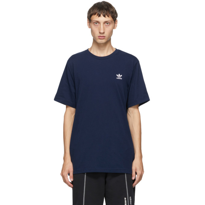 Photo: adidas Originals Navy Trefoil Essentials T-Shirt