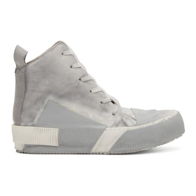 Photo: Boris Bidjan Saberi Grey Bamba 1 Sneakers