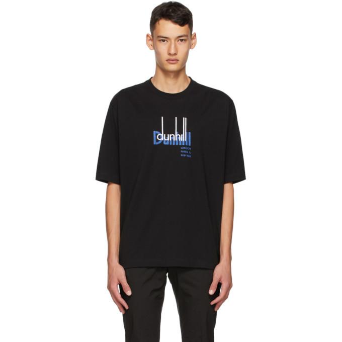 Dunhill Black New York Archive Logo T-Shirt