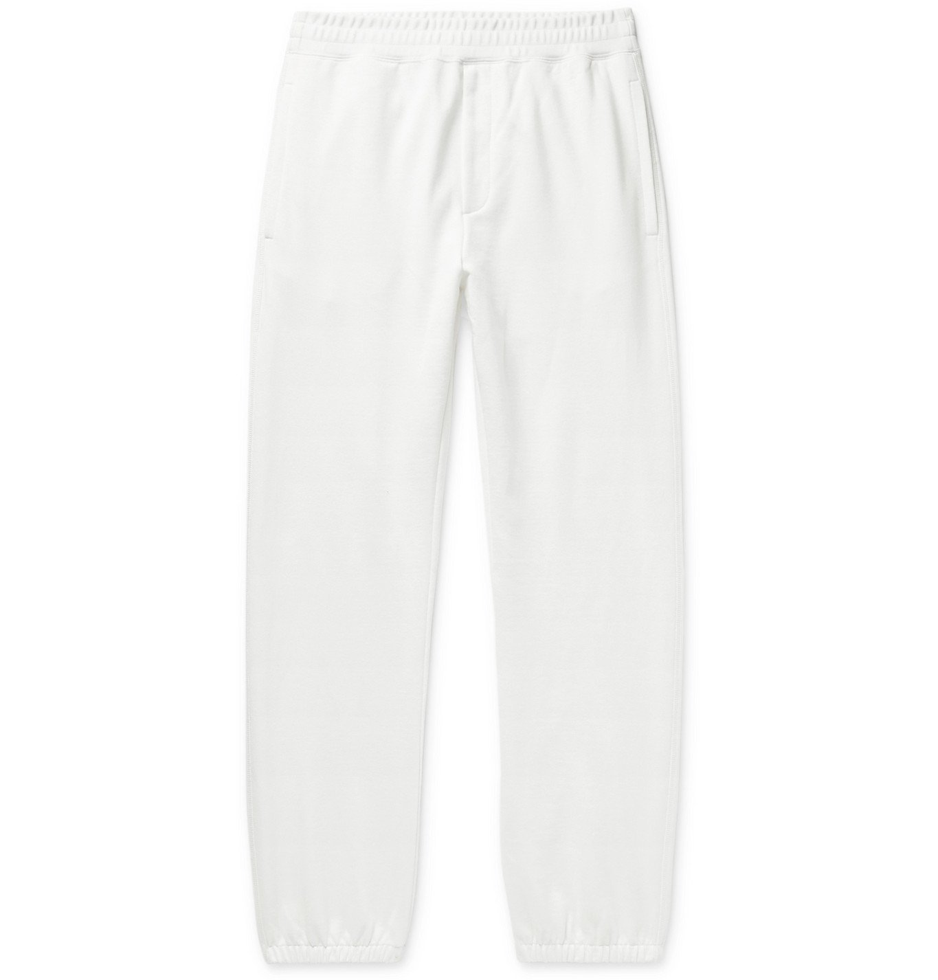 Photo: The Row - Olin Loopback Cotton-Jersey Sweatpants - Neutrals