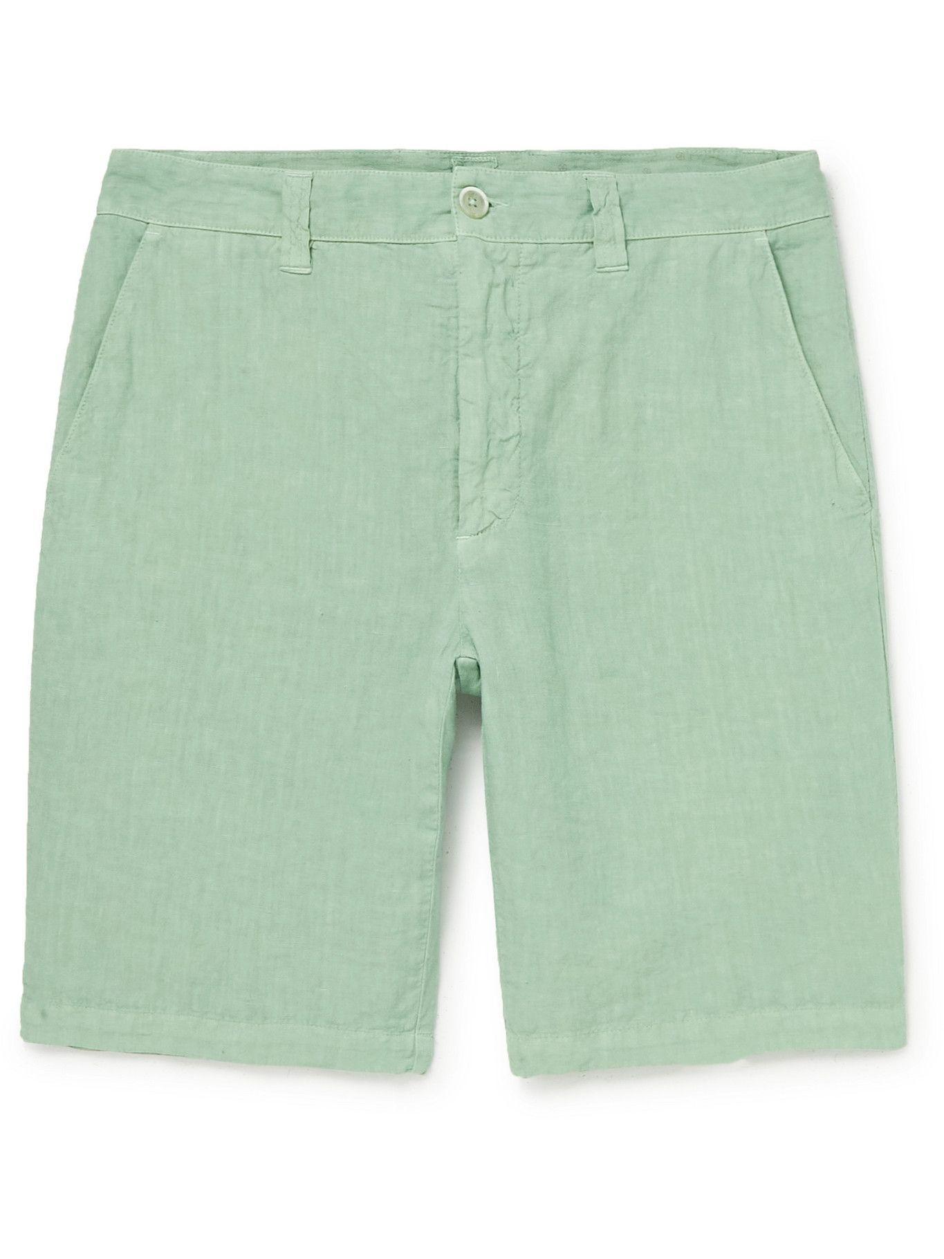 Photo: 120% - Linen Shorts - Green