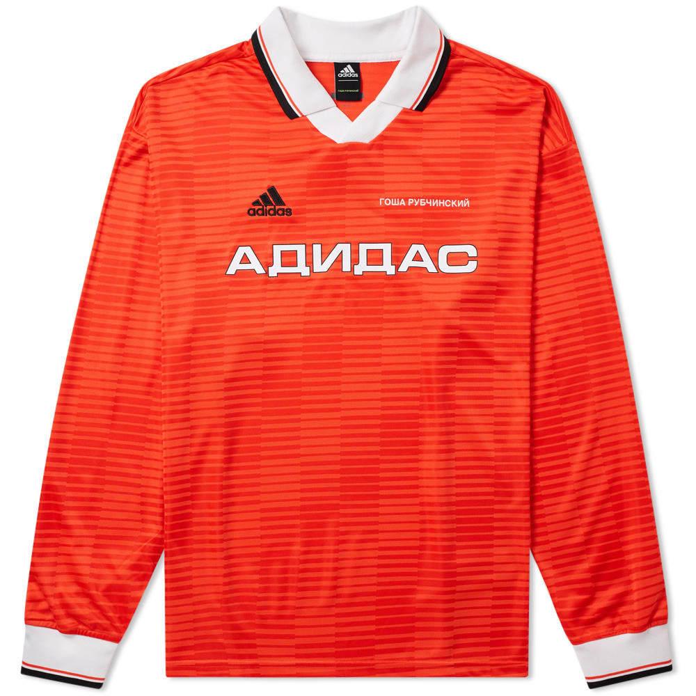 Photo: Gosha Rubchinskiy x Adidas Long Sleeve Tee Red