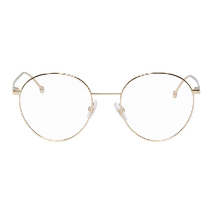 Photo: Fendi Gold Forever Fendi 0353 Glasses