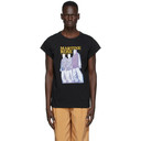 Martine Rose Black Motion T-Shirt