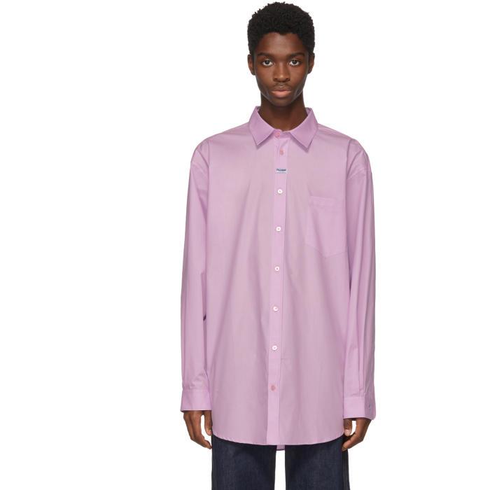 Martine Rose Pink Oxford shirt